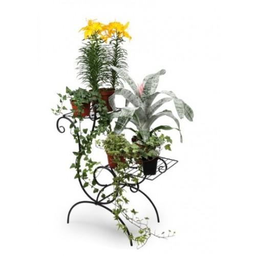 Estanter a para plantas de hierro cal fuster regalos - Estanteria para plantas ...