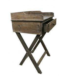 Escritorio de madera reciclada