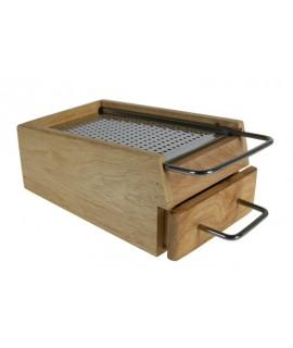 Rallador en caja de madera