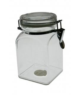 Bote de cocina metacrilato transparente.