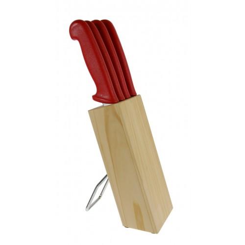 Cuchillos cocina con soporte de madera tiles de cocina for Soporte utensilios cocina