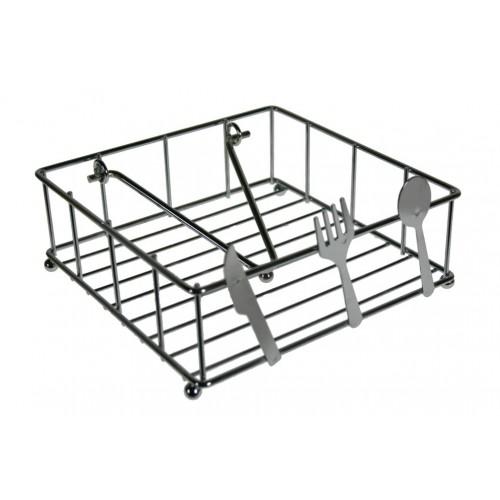Servilletero gran capacidad de metal cromado tiles cocina for Metal cromado