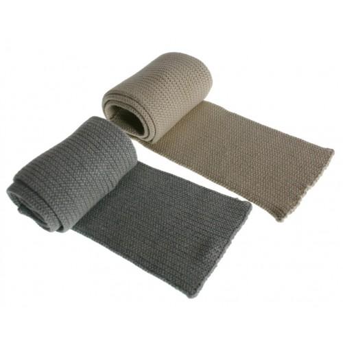 Bufanda de algodón infantil -color Gris-