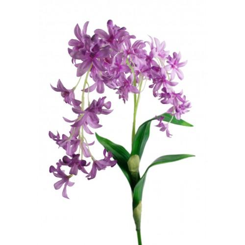 Flor artificial Orquídea color lila