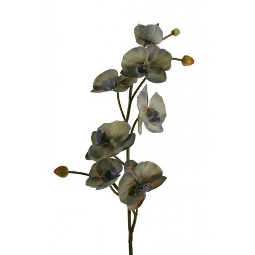 Flor artificial Orquídea grís