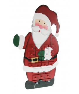 """Calendario Adviento """"Papa Noel"""""""