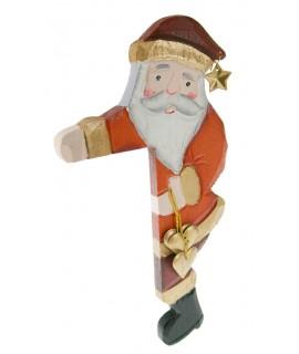 Pare Noel per al marc de la porta