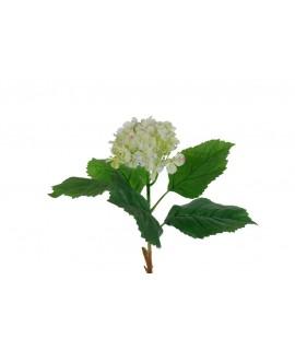 Flor artificial de Hortensia Hydrangea blanca