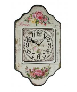Reloj de pared, Rosas