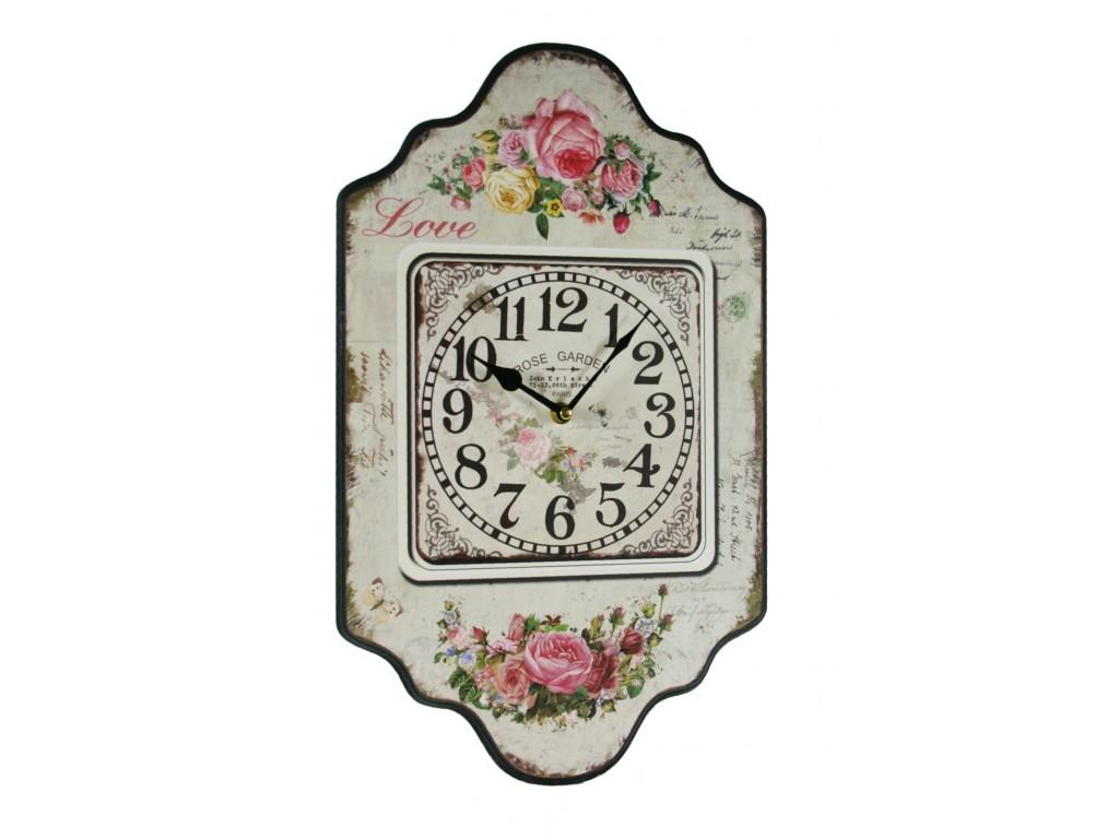 Reloj de pared para cocina flores - Relojes de pared retro ...