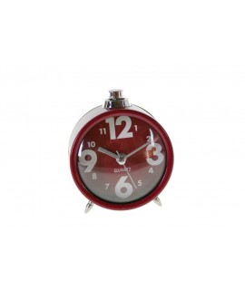 Rellotge despertador color vermell