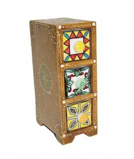 Caja especiero cerámica