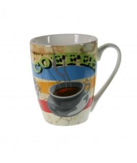 Taza Te Café cerámica colores