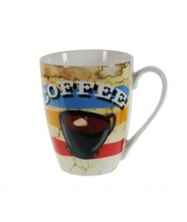 Taza Te Café cerámica colores.