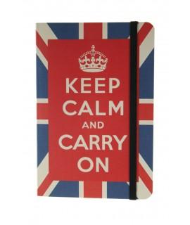 Libreta Notas Keep Calm Hojas rayadas