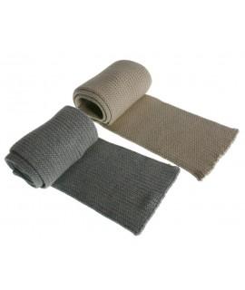 Bufanda de algodón infantil -color Crudo-