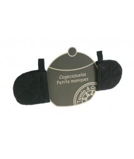 Coge-Cacerolas color Negro