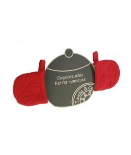 Coge-Cacerolas -color Rojo-