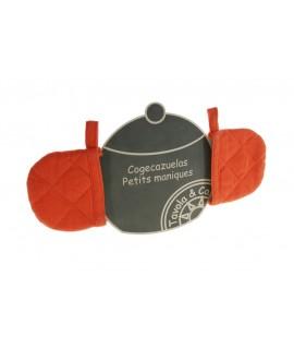 Coge-Cacerolas -color Naranja-
