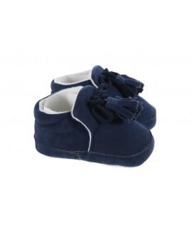 Zapato Infantil color Azul Talla 3-6 meses