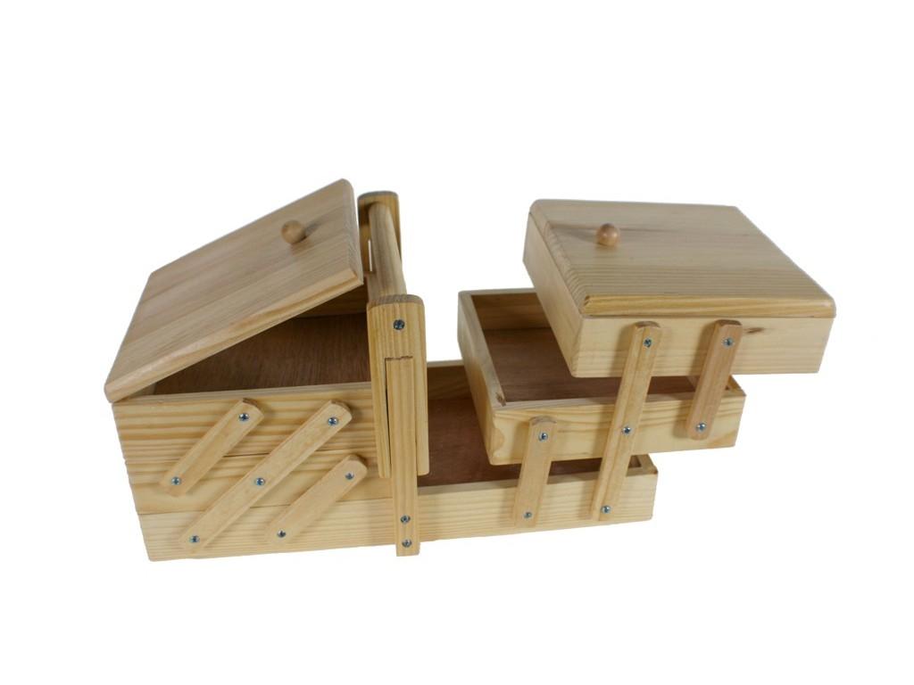 Costurero madera de pino maciza - Madera de pino ...
