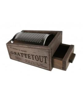 Rallador pequeño de madera
