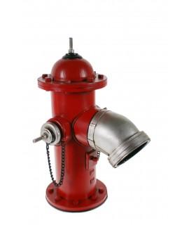 Boca de incendios roja