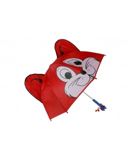 Paraguas infantil Zorro. Medidas: 63xØ70 cm.