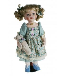 Muñeca de porcelana Lydia