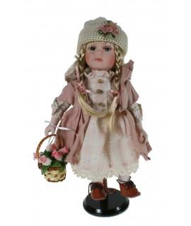 Muñeca de porcelana Ester