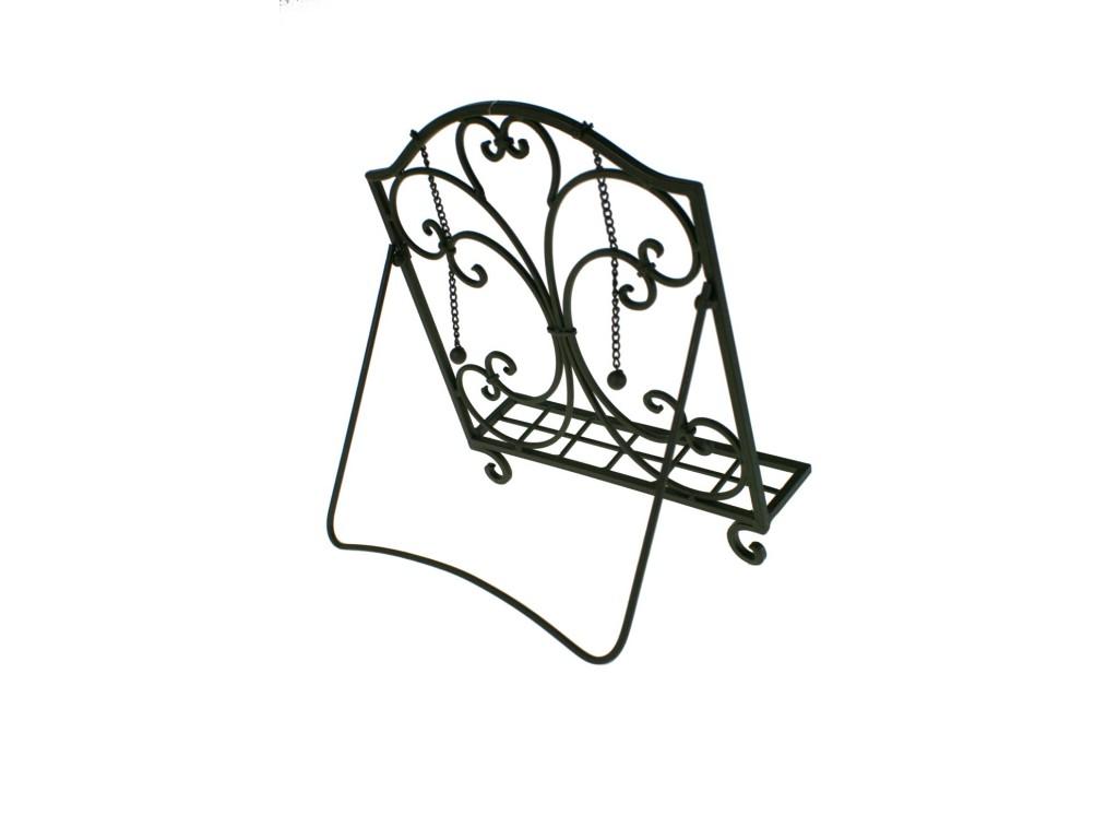 Atril de hierro plegable decoraci n rustico - Atril decoracion ...