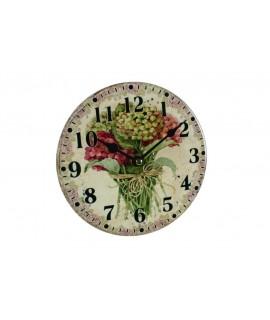 Reloj pared de cerámica