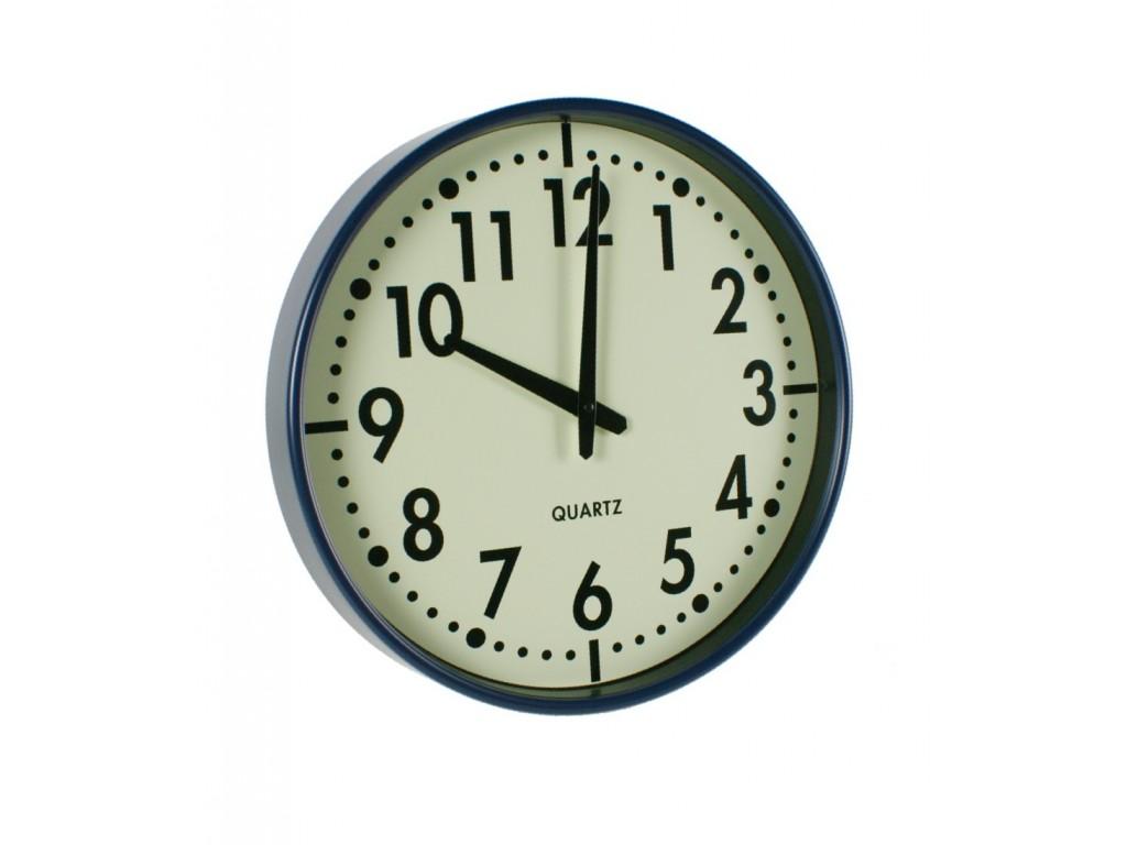 Reloj de pared azul - Reloj para pared ...
