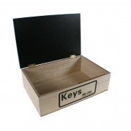 Caja de madera para llaves
