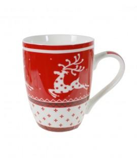 Mug con decoración Navideña