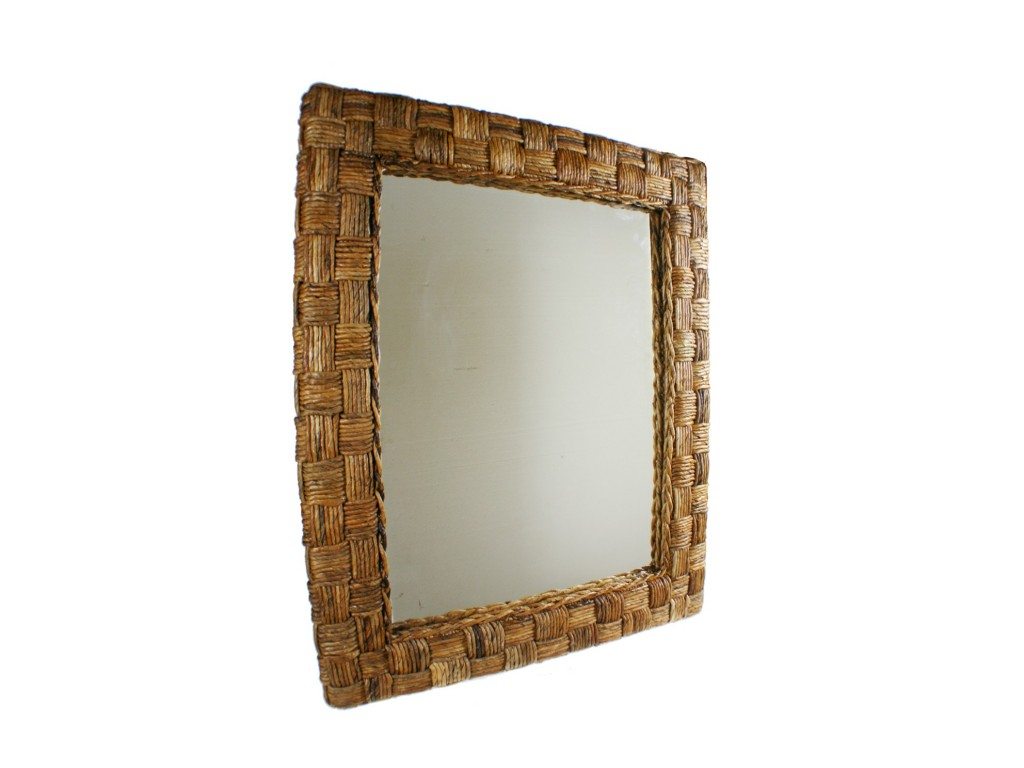 Comprar online espejo de pared grande con estructura de for Espejo grande pared