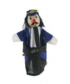 Títere de mano Policia