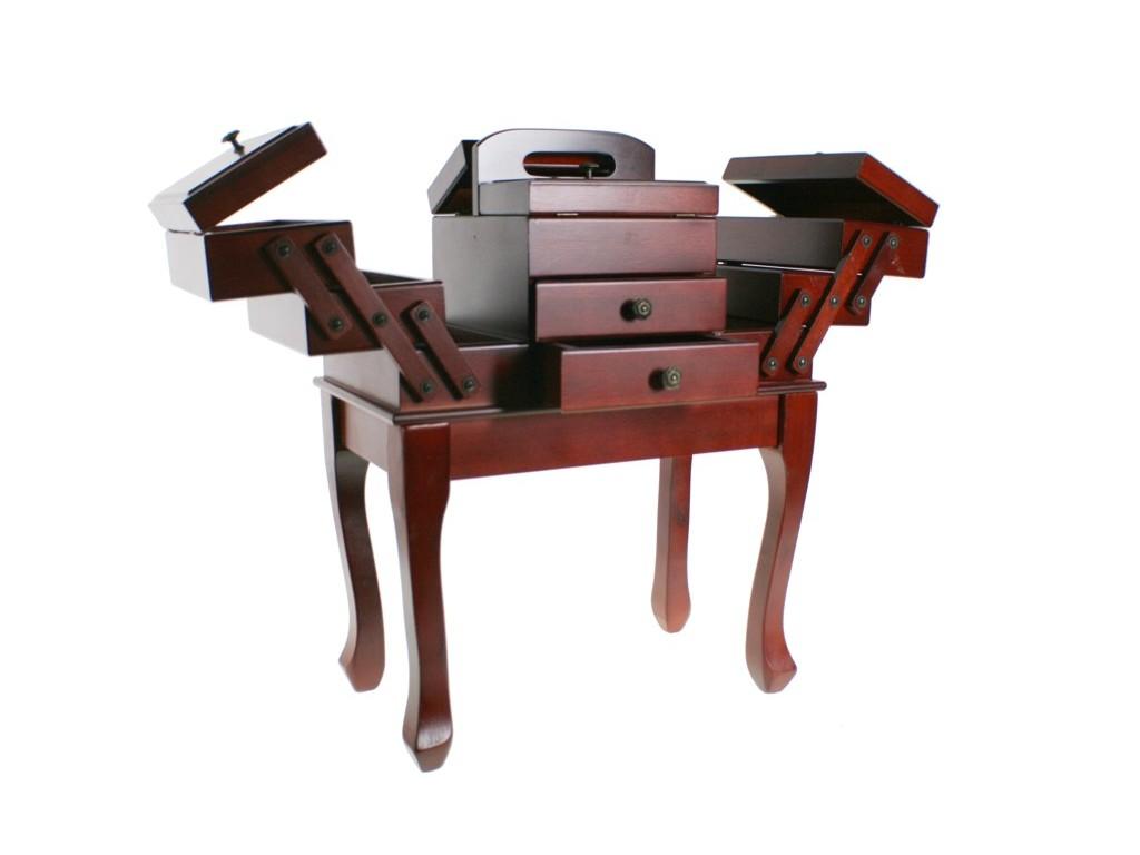 Comprar online mueble costurero grande de madera for Mueble costurero