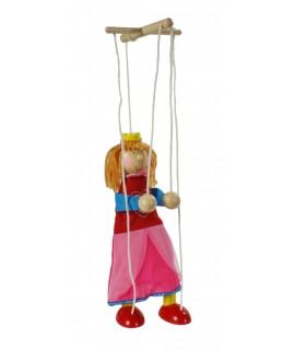 Títere de cuerda princesa