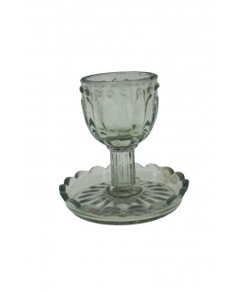 Palmatoria copa de cristal