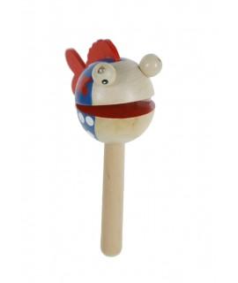 Cabeza de madera Clap Clap