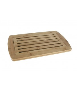 Tabla de madera con rejilla para cortar el pan