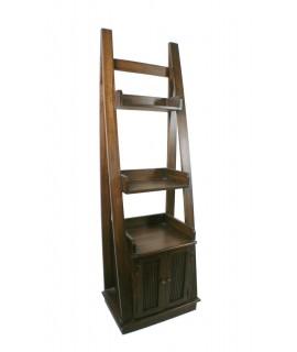 Prestatgeria llibreria de fusta massissa amb armari inferior