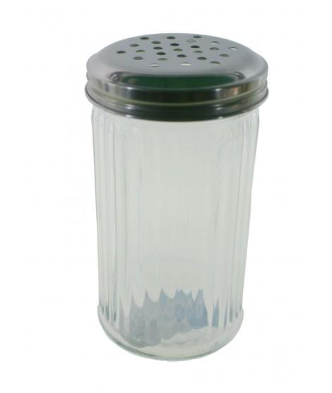 Azucarero especiero salero dosificador tamaño grande de cristal estilo clásico menaje de cocina