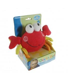 Éponge pour le bain des enfants, crabe. Mesures: 13x20 cm.