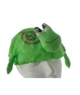 Gorro impermeable de baño ajustable para bebe protección ducha niños