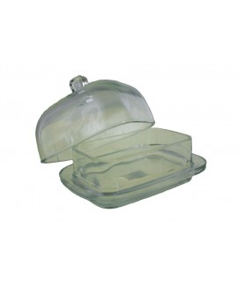 Mantequillera gran de vidre