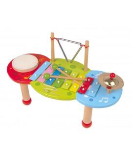 Mesa musical con xilófono 8 tonos