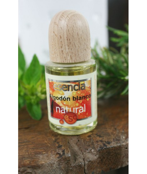 Esencia natural 100% de Algodón Blanco perfume de ambiente