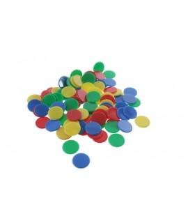 Recanvi de fitxes de parxís 4 colors.